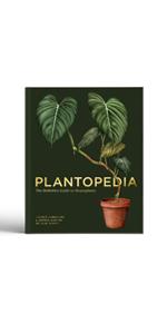 book cover plantopedia gardening plants garden gardening gifts botany gardening books plant