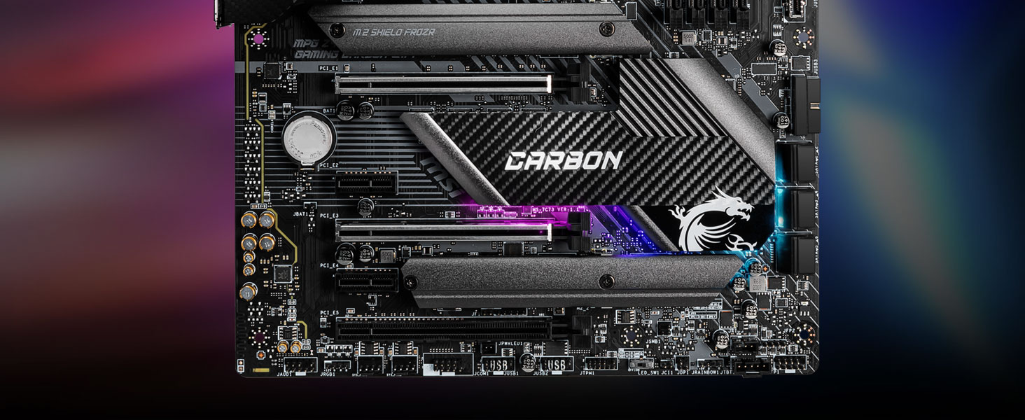 msi, mpg z490 gaming carbon wifi, gaming pro carbon, motherboard, intel