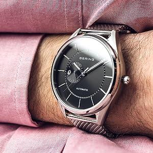 Herren Analog 227 Bering Armbanduhr Automatik Edelstahl 16243 QsdhrtxBoC