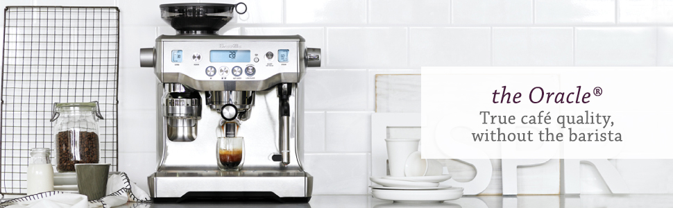 the Oracle Espresso Machine by Breville