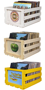 The Beatles Crates