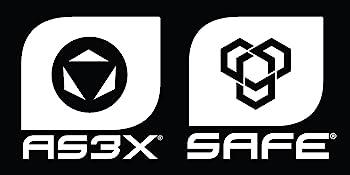 AS3X and SAFE logos