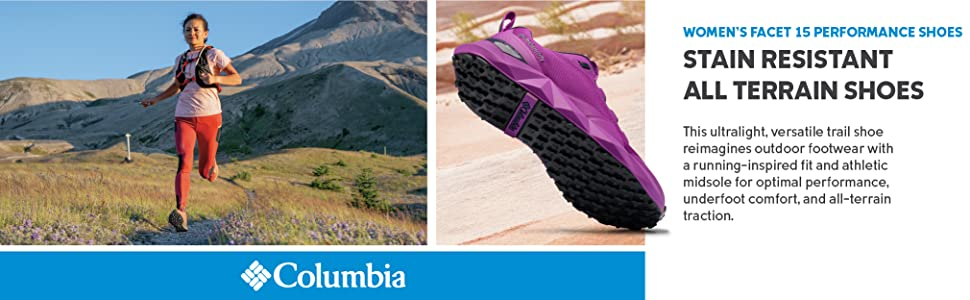 Columbia Women's Facet 15 Performance Trail Running shoe