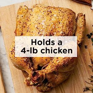 OP101, Ninja, Foodi, Multi-cooker, 4-lb chicken