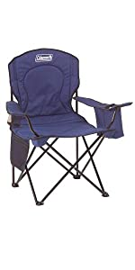 Amazon Com Coleman Camp Chair With Side Table Folding