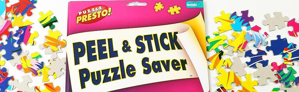 Amazon.com: Puzzle Presto! Peel & Stick Puzzle Saver: The Original ...
