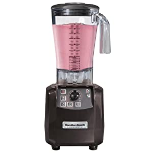 High performance blender with auto shutoff