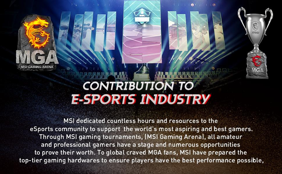 MSI Dedication to E-sports