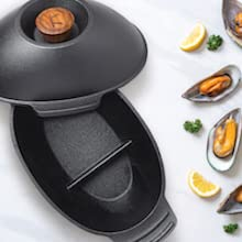 mussel pot cast iron oyster shrimp pan seafood grilling grill bbq lobster