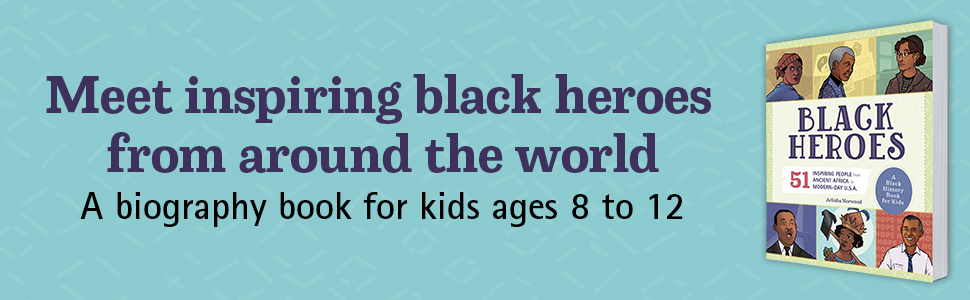black history book for kids, black history biographies for kids
