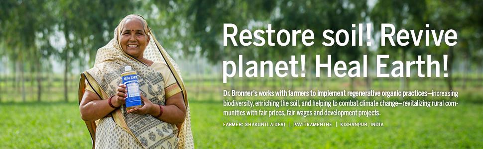 Dr. Bronner's, Hand Sanitizer, Organic Sanitizer, Non-GMO, Vegan