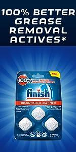 Amazon.com: Finish In-Wash Dishwasher Cleaner: Clean