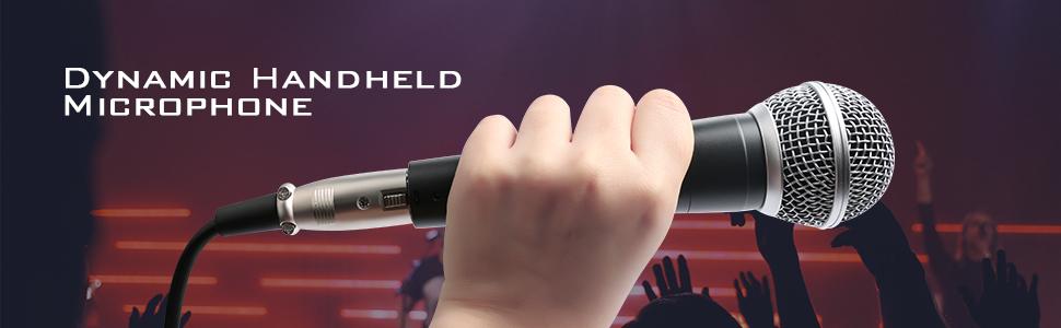microphone dynamic handheld