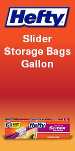 Hefty Slider Storage Bags Gallon