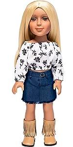 I'M A GIRLY fashion doll Zoe, I'M A GIRLY Zoe, I'M A GIRLIE doll, doll