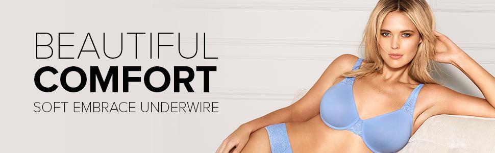 efc34894f4 Wacoal Soft Embrace Underwire Bra Bra at Amazon Women s Clothing store