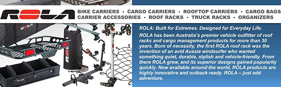 Rola Bike Carrier Cargo Rooftop bag bags accessories roof racks truck organizers