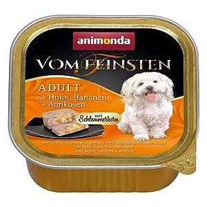 Animonda Vom Feinsten Adult Hundefutter Nassfutter Fur Ausgewachsene Hunde Mit Geflugel Und Kalb 22 X 150 G Amazon De Haustier