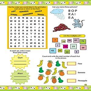 Activity Books for kids, jumbo activity
