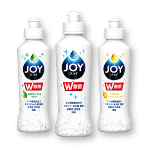 スポンジ除菌で洗浄力を最大化するW除菌ジョイ