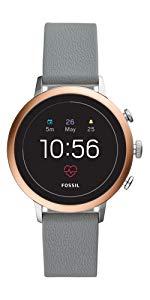 Damen Silikon Armband Fossil Ftw6022Uhren Mit Smartwatch BQdEorCxWe