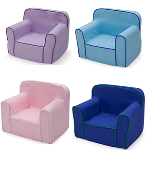 delta children foam snuggle chair colors kids toddler