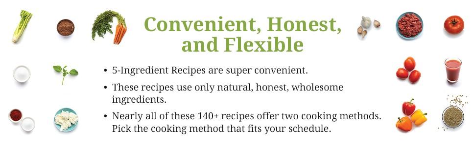 5-Ingredient Natural Recipes
