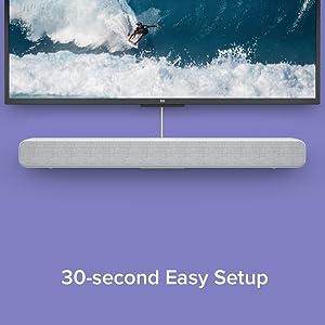 30 second Easy Setup