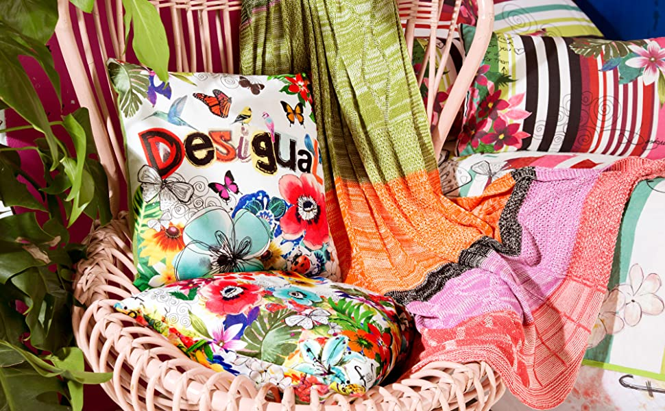 Desigual Cushions & Throws