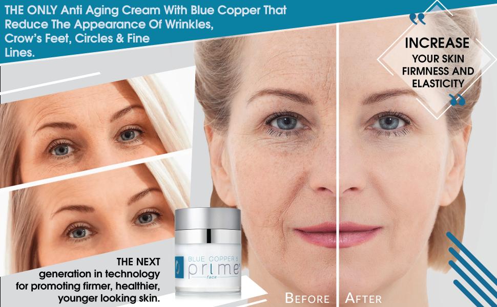Osmotics Blue Copper 5 Prime Face, Anti Aging Face Cream For Men and Women, Best Cream