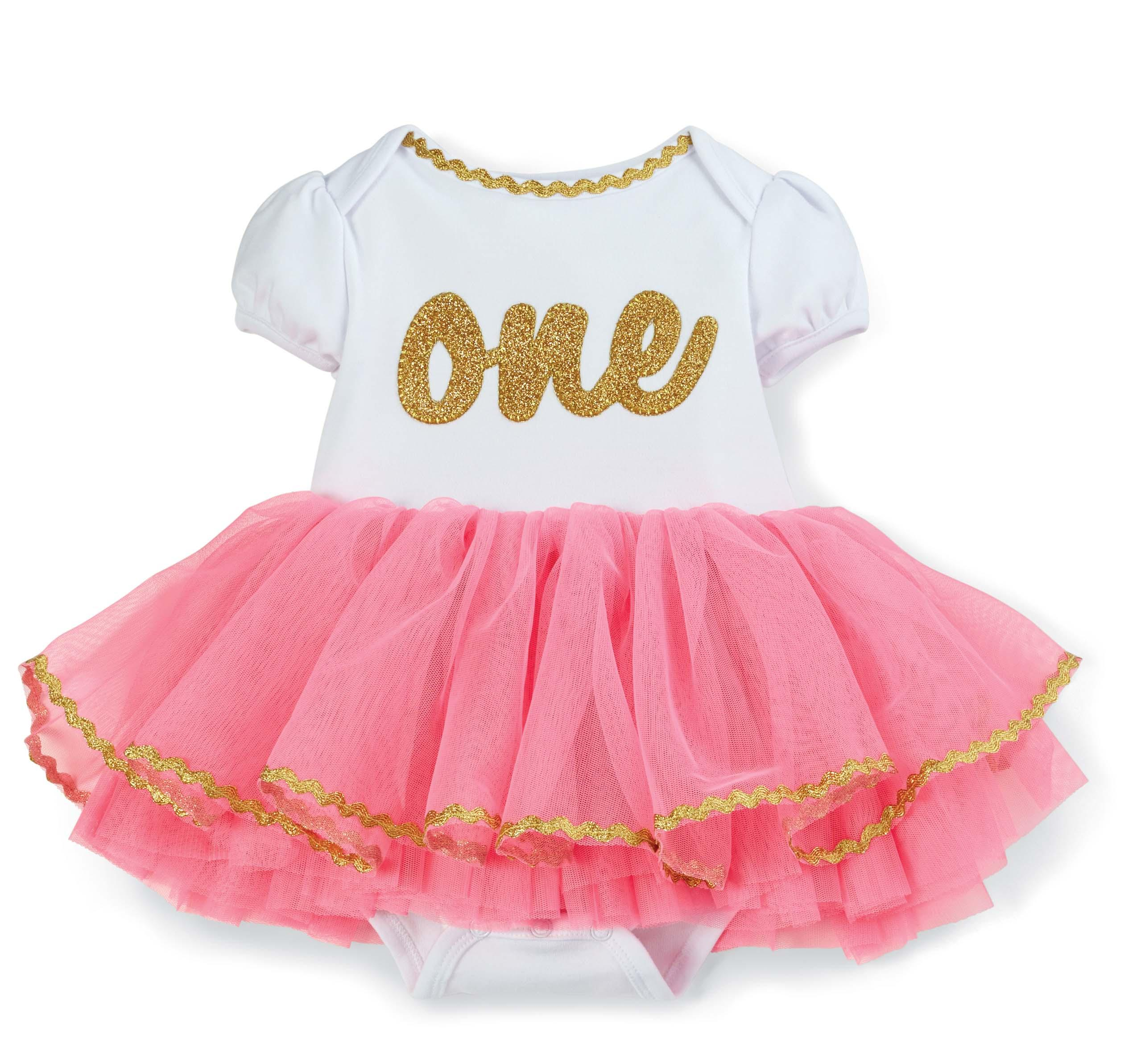 4cb84a755 Amazon.com: Mud Pie Baby Girl's Birthday Tutu, Multi, One Size: Clothing
