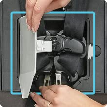 Integrated Harness Storage Compartment