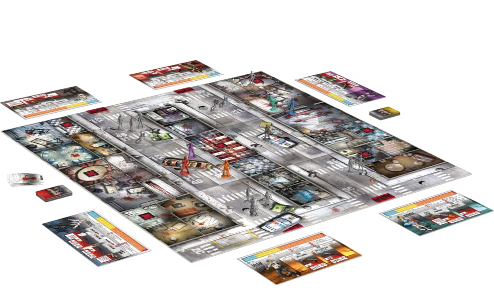 zombicide game layout components