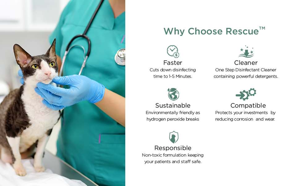 Why Choose Rescue - Faster, CLeaner, Sustainable, Compatible, Responsible
