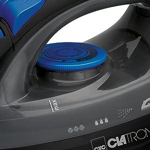 Clatronic DB 3703 Plancha Suela Acero INOX, Vertical, Golpe de ...