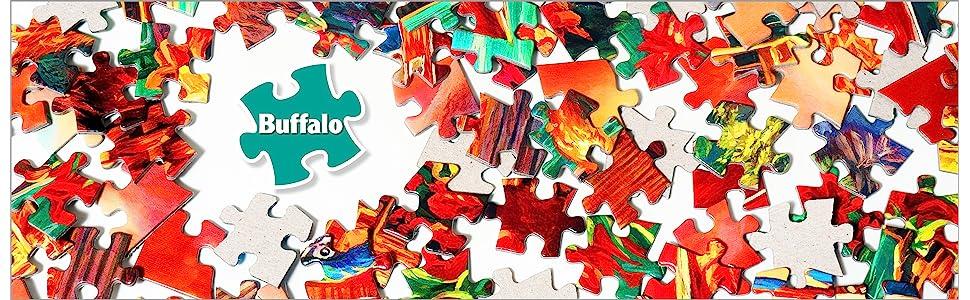 Buffalo Games Banner Puzzle Pieces