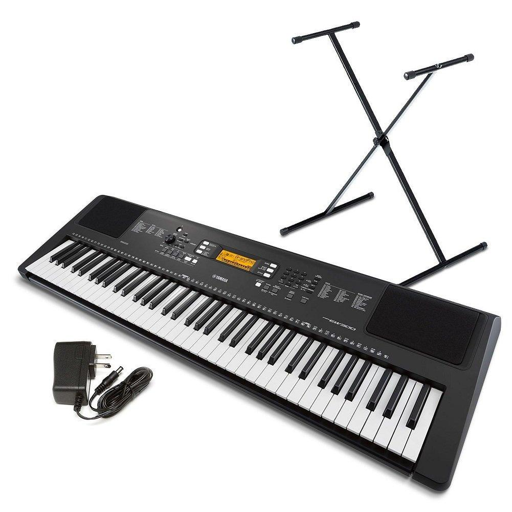 yamaha psr ew300 sa 76 key portable keyboard. Black Bedroom Furniture Sets. Home Design Ideas