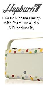 Hepburn Mk II, VQ, View Quest, Radio, DAB Digital Radio, Bluetooth Speaker, Retro Radio, Clock Radio