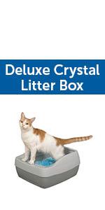cat litter box litterbox self cleaning automatic crystal petsafe pet safe scoopfree scoop