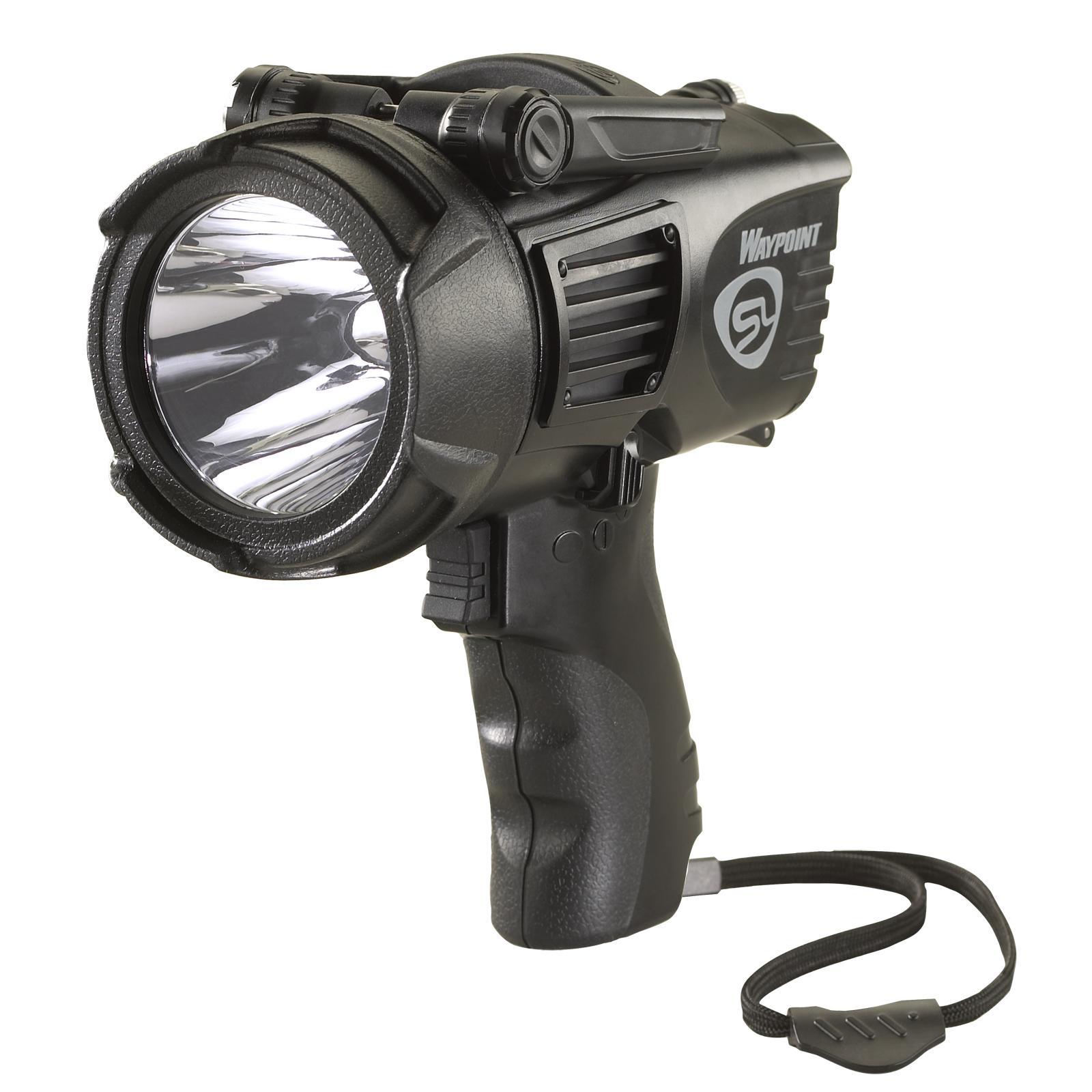 Amazon Com Streamlight 44900 Waypoint Spotlight With 12v