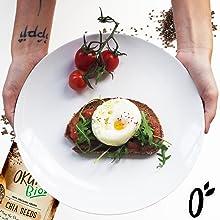 Semillas de Chia |100% Orgánico | Vegano | Superalimento | Alto ...