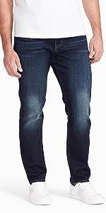 william rast men's titan athletic fit taper denim jeans