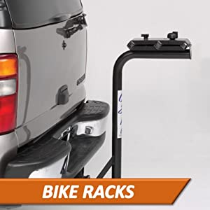 Surco Receiver spare tire mount 3 4 5 bike racks steel powdercoat fold down swing away fit over