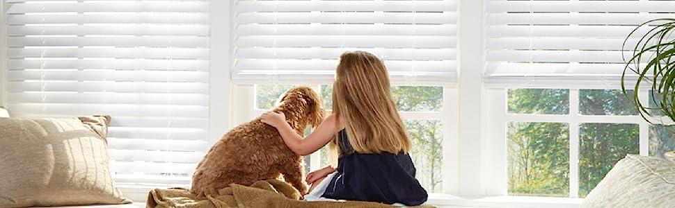 dez furnishings cordless blackout light blocking cellular shade child safe pet safe best for kids