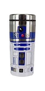 Star Wars R2D2 Taza de viaje