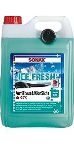 Antivries & helder zicht tot -20 °C IceFresh