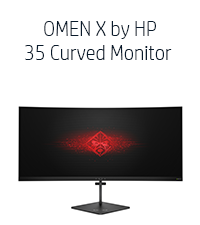OMEN X by HP 35 Curved Monitor