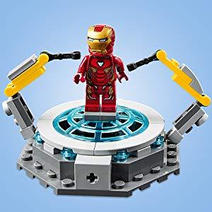 LEGO Super Heroes - Iron Man: Sala de Armaduras, Juguete de ...