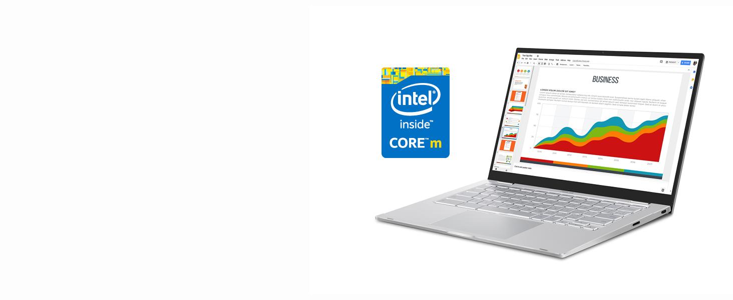 インテル Core m3-8100Y プロセッサーを搭載
