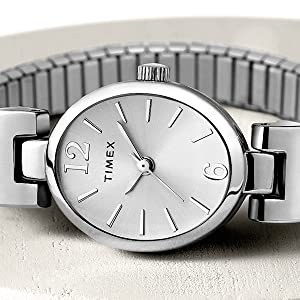 Timex Fashion Stretch Bangle watch